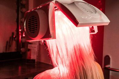 Traitement pas LED visage aux Lilas - Dr Eychenne